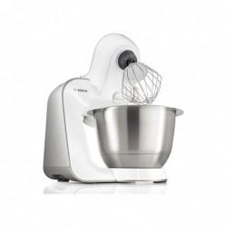 BOSCH kitchen machine MUM 54251 Bol Acier 900W Blanc Argent