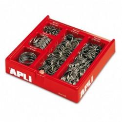 APLI Présentoir de 330 anneaux  Diamètres assortis