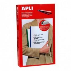 APLI Boite de 50 baguettes à relier  5x297 mm