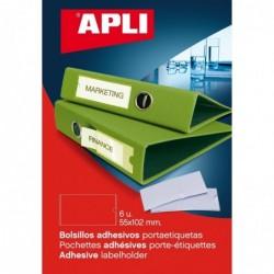 APLI Pochette de 6 porte-...