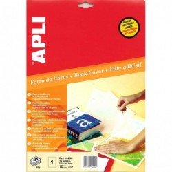APLI Etui de 10 Feuille de plastification repositionnable 241,3 x 333 mm