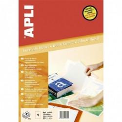 APLI Feuille de plastification repositionnable 333 x 482,6 mm