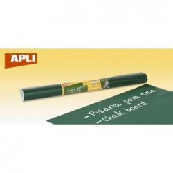 APLI Rouleau de tableau vert effaçable à sec 0.45 x 2 m