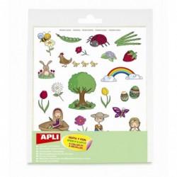 APLI Pochette 12 feuilles...