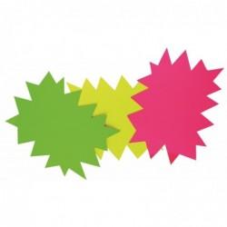 AGIPA Paquet de 50 éclatés fluo 8 x 12 cm