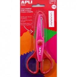 APLI Ciseaux créatifs Dents...