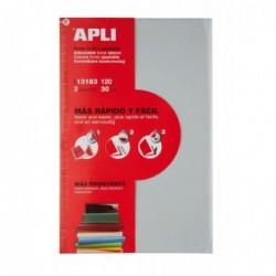 APLI Couvre-livres transparent avec rabat  300 mm