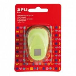 APLI Perforatrice de forme créative Carré  11 mm