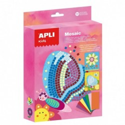 APLI Kit mosaique en mousse Printemps 19x26x4,5 cm