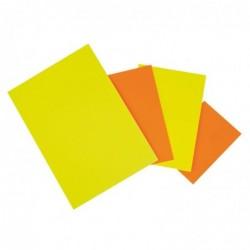 AGIPA Paquet de 50 rectangles fluo 21 x 29,7 cm