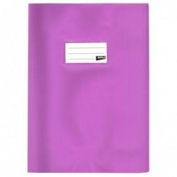 APLI Protège-cahier PVC 19/100ème 24 x 32 cm Opaque Violet