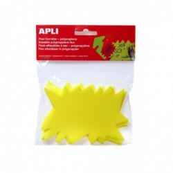 AGIPA Paquet de 10 éclatés en polypropylène  8 x 12 cm