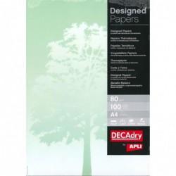 DECADRY Papier de communication A4 80g 100 feuilles Illustrée ARBRE