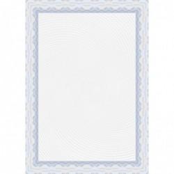 DECADRY Papier de communication A4 115g 70 feuilles Diplômes Spiral Bleu