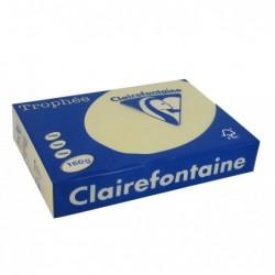 TROPHÉE Ramette 250 Feuilles Papier 160g A4 210x297 mm Certifié FSC  CHAMOIS