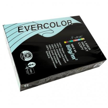 EVERCOLOR Ramette 500 Feuilles Papier 80g A4 210x297 mm Certifié Ange Bleu  Bleu