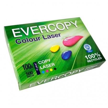 EVERCOPY Ramette 500 Feuilles Papier 100g A4 210x297 mm Certifié Ange Bleu Laser Blanc