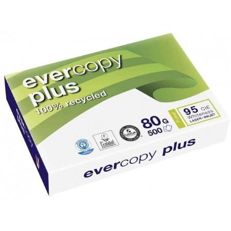 EVERCOPY Ramette 500 Feuilles Papier 80g A3 420x297 mm Certifié Ange Bleu  Blanc