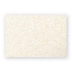 POLLEN Pqt de 25 Carte Simple 210g 70x95 ivoire irisé