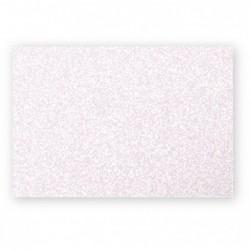 POLLEN Pqt de 25 Carte Simple 210g 82x128 rose poudré irisé