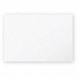 POLLEN Pqt de 25 Carte Simple 210g 82x128 blanc irisé