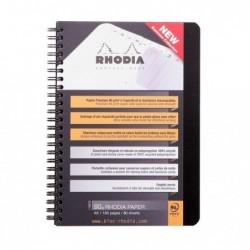 RHODIA AddressBook RHODIACTIVE 90g RI A5 160p. + poche carton ORANGE