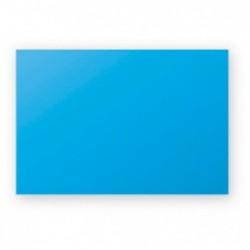 POLLEN Pqt de 25 Carte Simple 210g 70x95 bleu turquoise