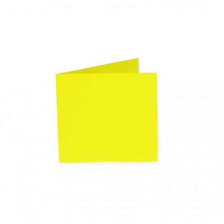 POLLEN Pqt de 25 Carte pliée Pollen 110x110 soleil