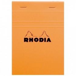 RHODIA bloc orange n°13...