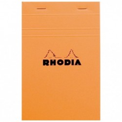 RHODIA Bloc ORANGE N°14...