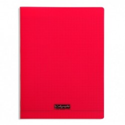 CALLIGRAPHE Cahier 8000 POLYPRO, 240 x 320 mm, rouge