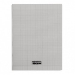 CALLIGRAPHE Calligraphe Cahier 8000 POLYPRO, 240 x 320 mm, gris