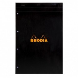 RHODIA Bloc BLACK N°20...