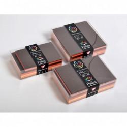 POLLEN Coffret 40 enveloppes 114x162 + 40 cartes 110x155 Automne (5 couleurs)