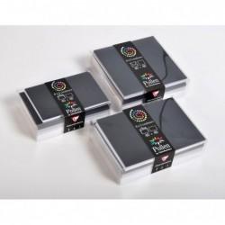 POLLEN Coffret 40 enveloppes 114x162 + 40 cartes 110x155 Hiver (5 couleurs)