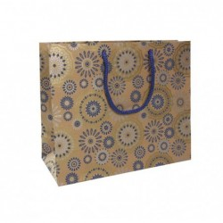 CLAIREFONTAINE Sac Shopping 32x13x25cm Bleu