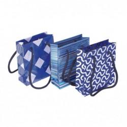 CLAIREFONTAINE Sac petit 12x4,5x13,5cm ass Bleu