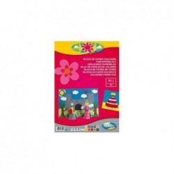 FOREVER Carta Forever, bloc 30F 130g A4 assorti 10 teintes