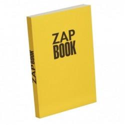 CLAIREFONTAINE Zap book bloc d'esquisse 14,8x21 uni 80 g 160 F