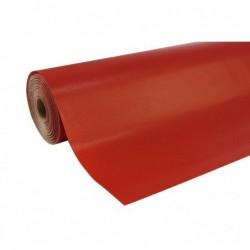 CLAIREFONTAINE Rlx papier cadeaux UNICOLOR Kraft L70 cm x 250 m  Rouge