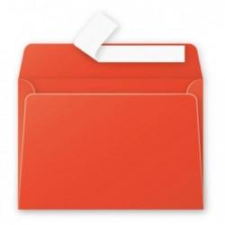 POLLEN Pqt de 20 Enveloppe 120g 114x162 rouge corail