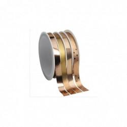 CLAIREFONTAINE Plateau 21 bobinots metal Noël - 4 rub 4x6m 10mm