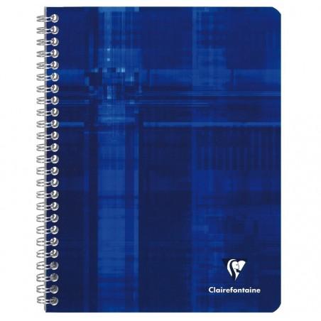 CLAIREFONTAINE Cahier reliure intégrale 17x22 100p 90g papier velouté séyès