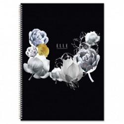 CLAIREFONTAINE Cahier reliure intégrale A4 100p Ligné + Marge
