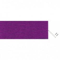 CLAIREFONTAINE Paquet 10F Crépon M40 2x0.50m violet