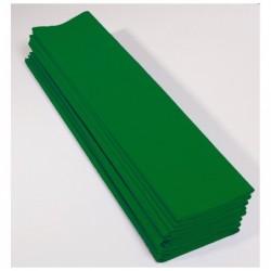 CLAIREFONTAINE Paquet 10F Crépon M40 2x0.50m vert empire