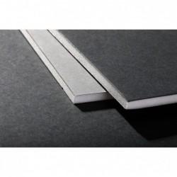 CLAIREFONTAINE 20F.Carton mousse 5mm A2 Noir - Gris