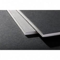 CLAIREFONTAINE 10F.Carton mousse 5mm A1 Noir - Gris