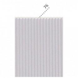 CLAIREFONTAINE Sac-étui 10F carton mini-microcannelé 50x70cm argent