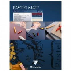 CLAIREFONTAINE Bloc Pastelmat n°4 18x24 12F 360g